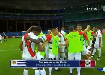 Perú a semifinales de la Copa América