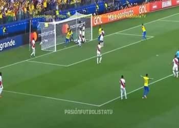 Brasil goleó 5-0 a Perú y blanquirroja quedaría fuera de la Copa América