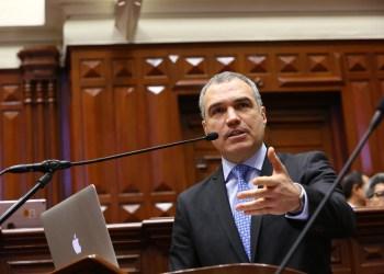 Salvador del Solar habla desde el Congreso