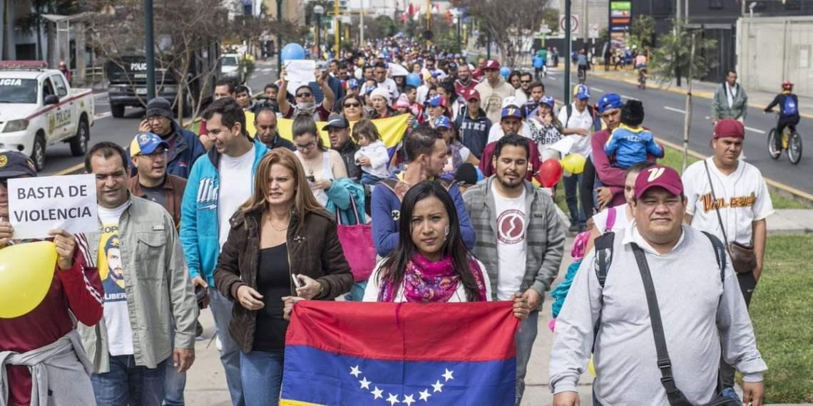 Venezolanos en el Perú