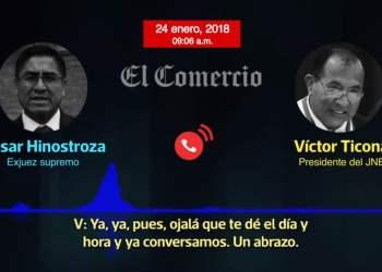 Fiscal de la Nación investiga a César Hinostroza y Víctor Ticona