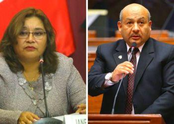 Congresistas Janet Sánchez y Moisés Guía renuncian a Peruanos por el Kambio