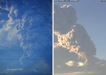 Volcán Ubinas registra nueva explosión y expulsión de cenizas