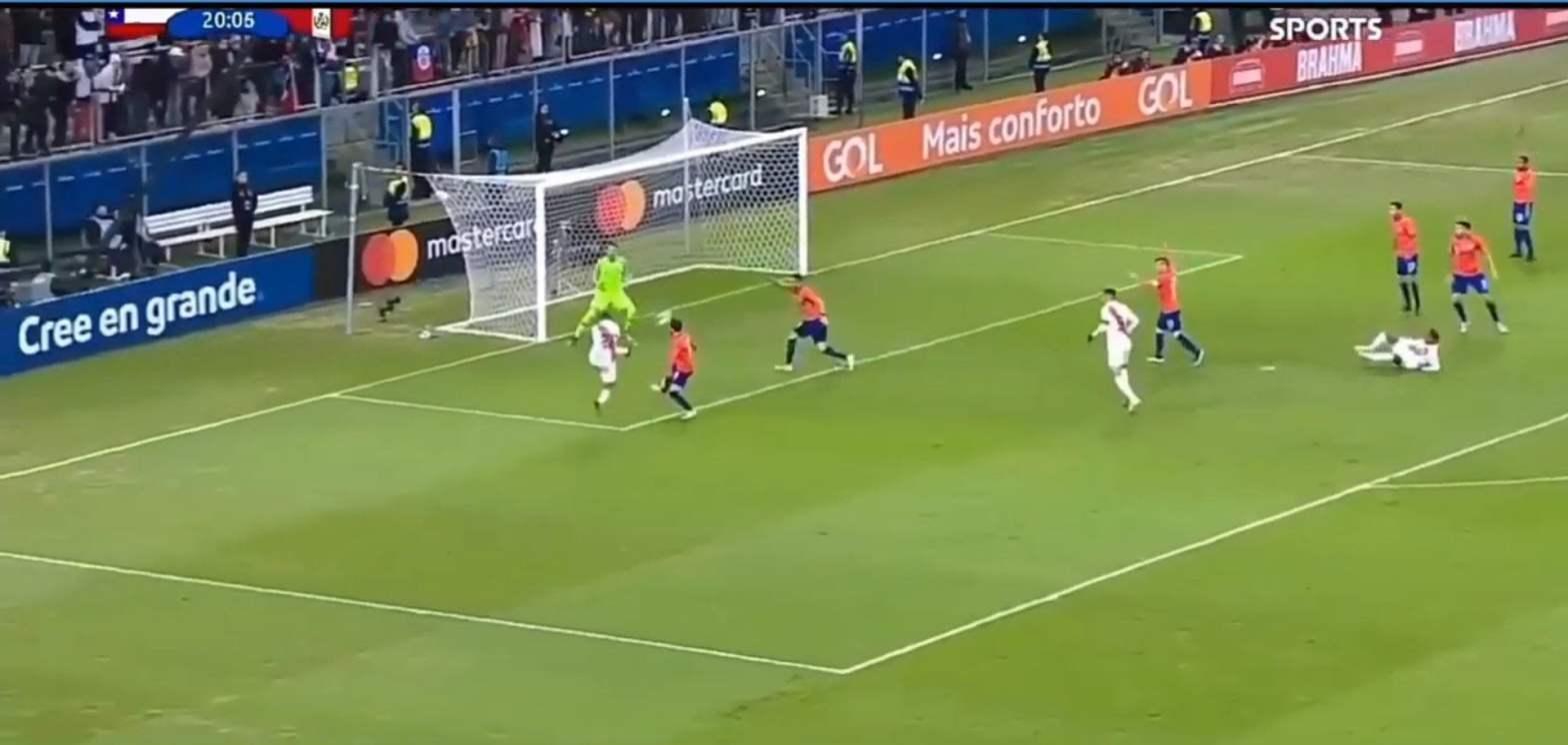 Perú en la final de la Copa América tras golear 3-0 a Chile