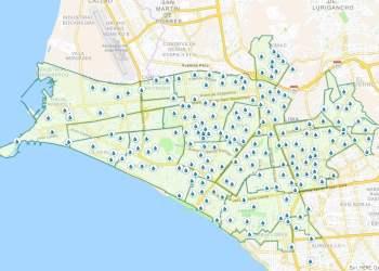 Corte de agua de Sedapal y mapa de los puntos de acopio gratis