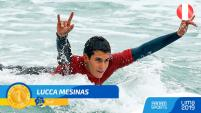 Lucca Mesinas gana oro en Panamericanos
