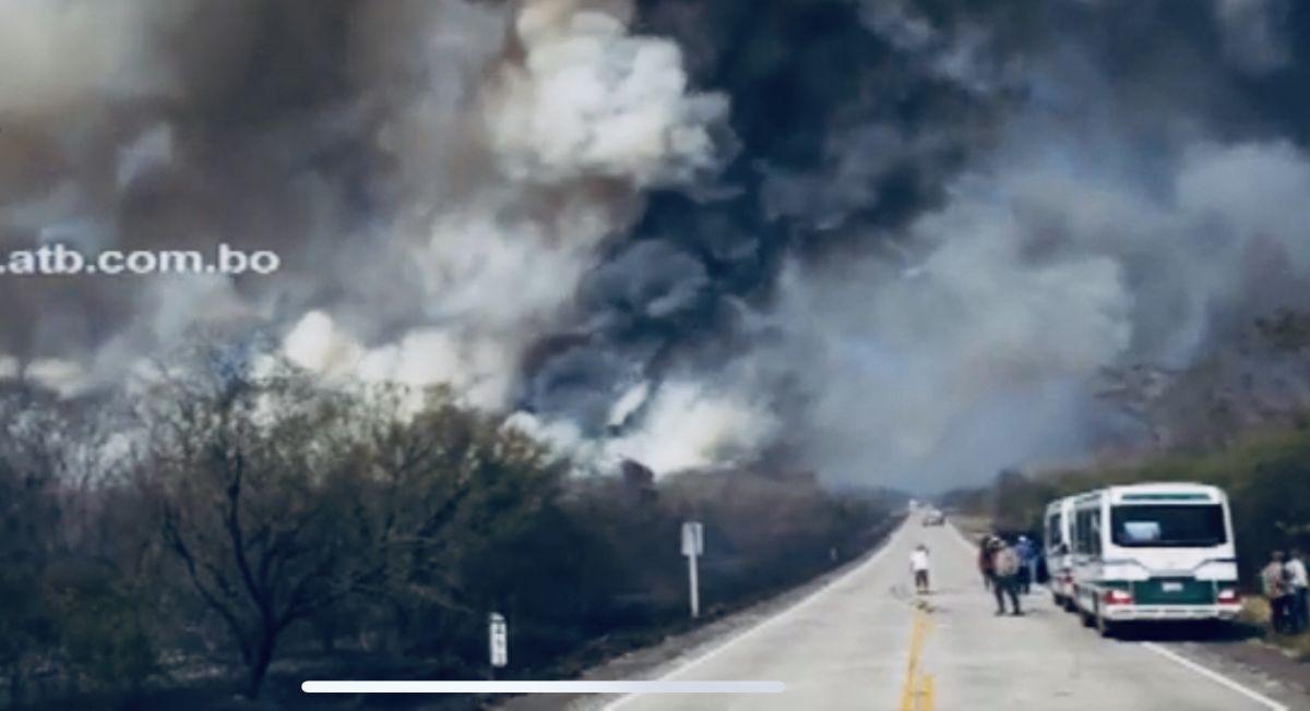 El impactante incendio que afecta a la Amazonia de Bolivia | Video