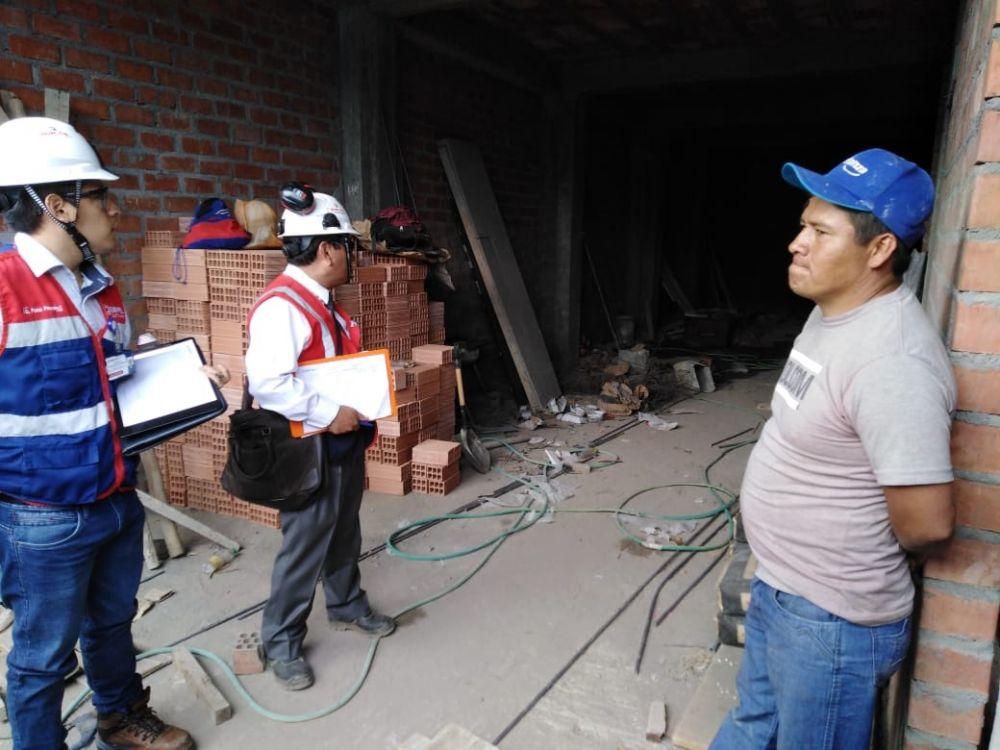 Sunafil detecta riesgo grave de trabajadores de construcción civil y manufactura