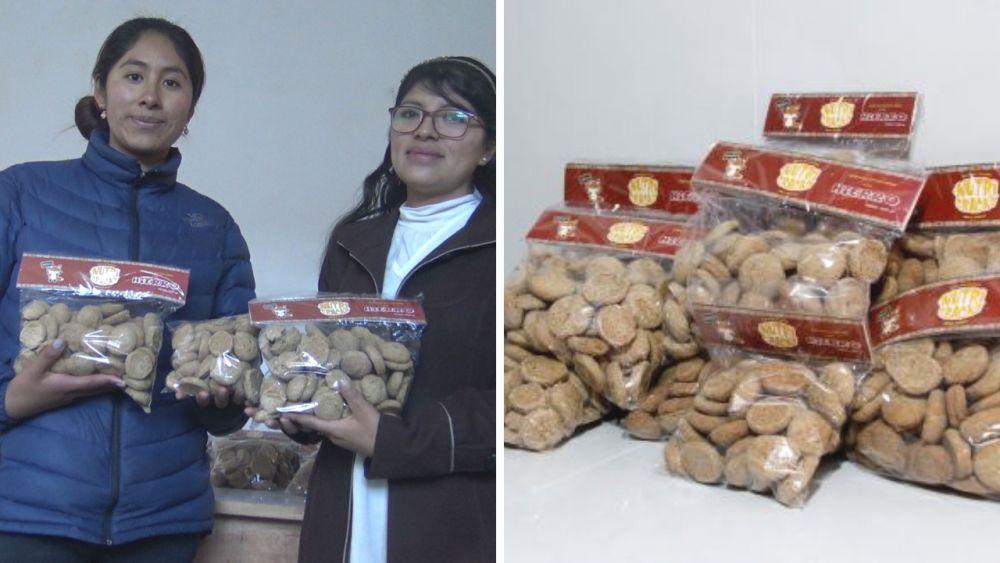 Madre puneña crea galleta rica en hierro que combate la anemia