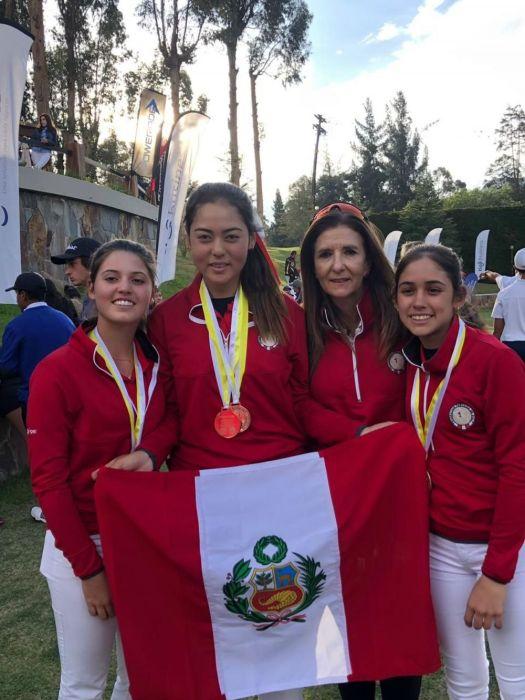 Golf peruano ganó medalla de bronce en Sudamericano Pre Juvenil 2019