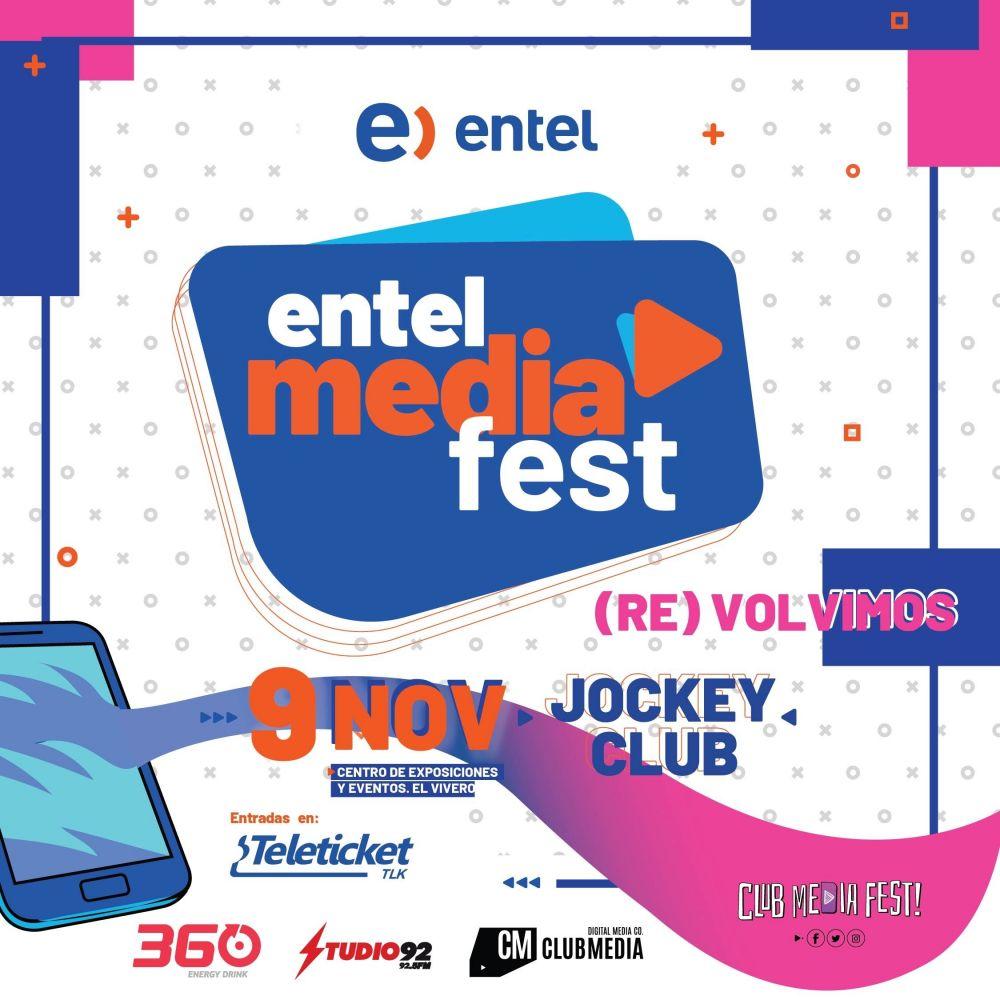 Entel Media Fest trae a Badabun y famosos youtubers al  Perú