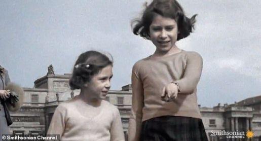 Video inédito de la Reina Isabel de niña y la Reina Victoria