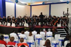 Orquesta Sinfónica Nacional llevó alegría al Hospital del Niño