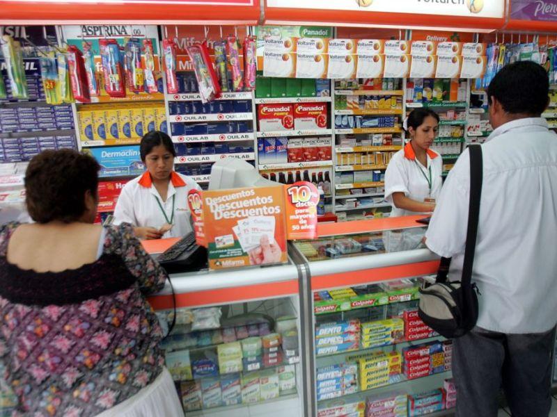 Farmacias y boticas deben vender 40 tipos de medicamentos genéricos
