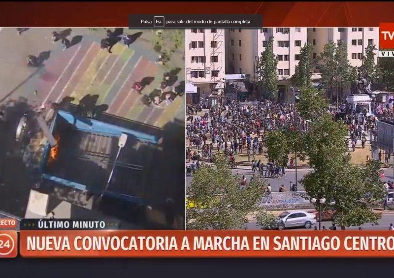 Más protestas en Chile