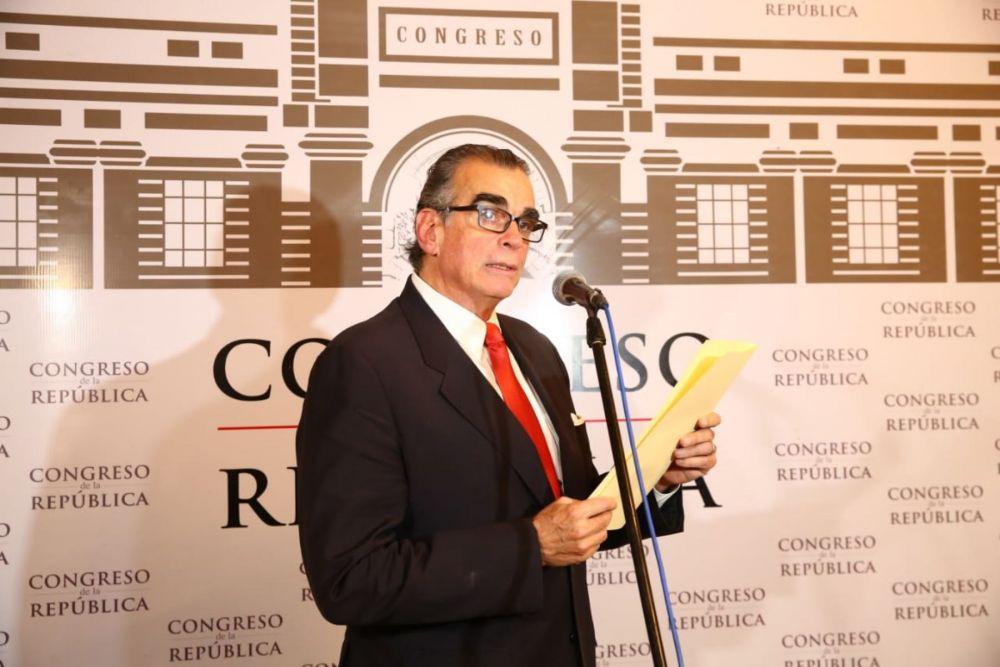 Pedro Olaechea en el Congreso