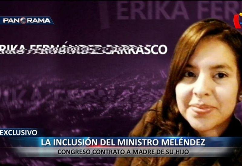 Jorge Meléndez influyó en contratación de la madre de su hijo en el Congreso