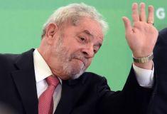 Lula salió libre