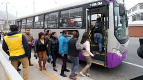 Corredores complementarios en Lima