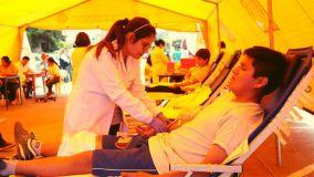 Alumnos de la Universidad Nacional Mayor de San Marcos donaron 300 unidades de sangre