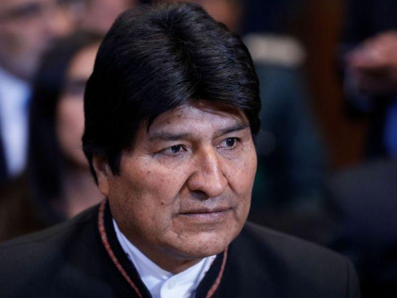 Evo Morales se va a México
