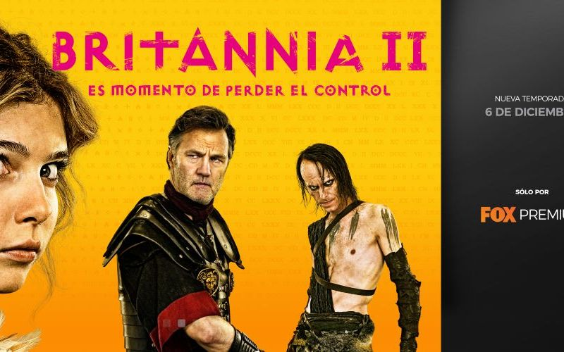 "Fox Premium estrena segunda temporada de la serie épica ""Britannia"""