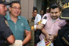 Jorge Cuba y Edwin Luyo