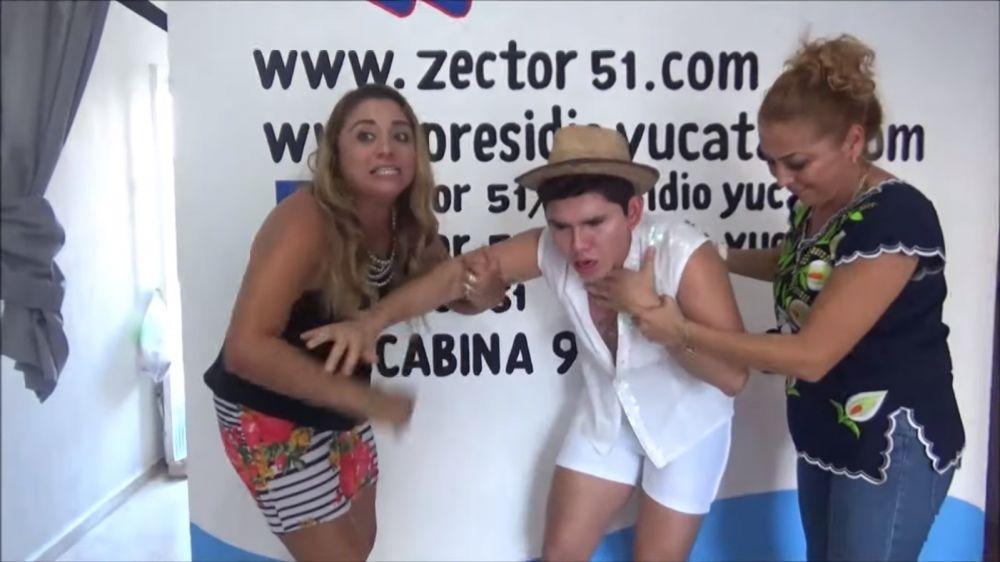 Youtuber mexicano se atragantó en vivo