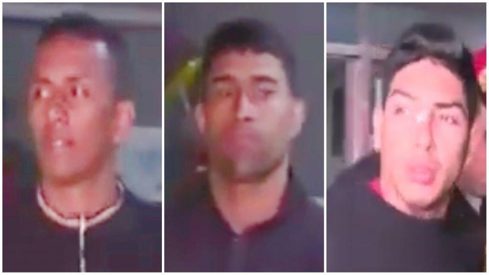 Tres venezolanos ladrones de relojes escapan de sede policial limando barrotes