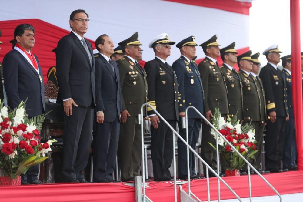 """Ministro de Defensa: """"Los corruptos no tienen cabida en el Ejército"""""""