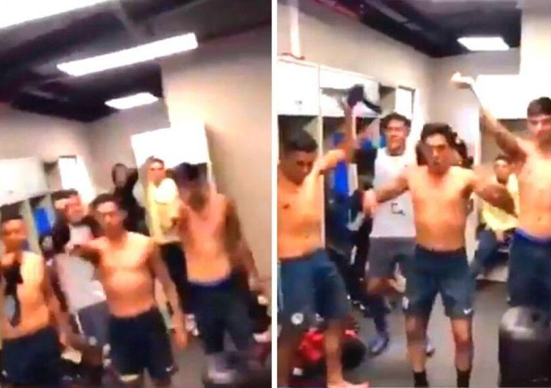 """Futbolistas mexicanos se burlan de viral """"un violador en tu camino"""""""