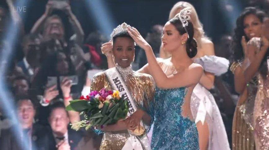 Así fue coronada Miss Sudáfrica como la nueva Miss Universo 2019