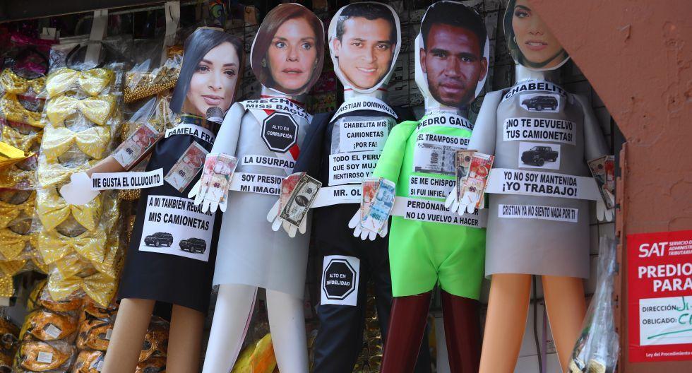 Muñecos Año Nuevo / Foto El Comercio