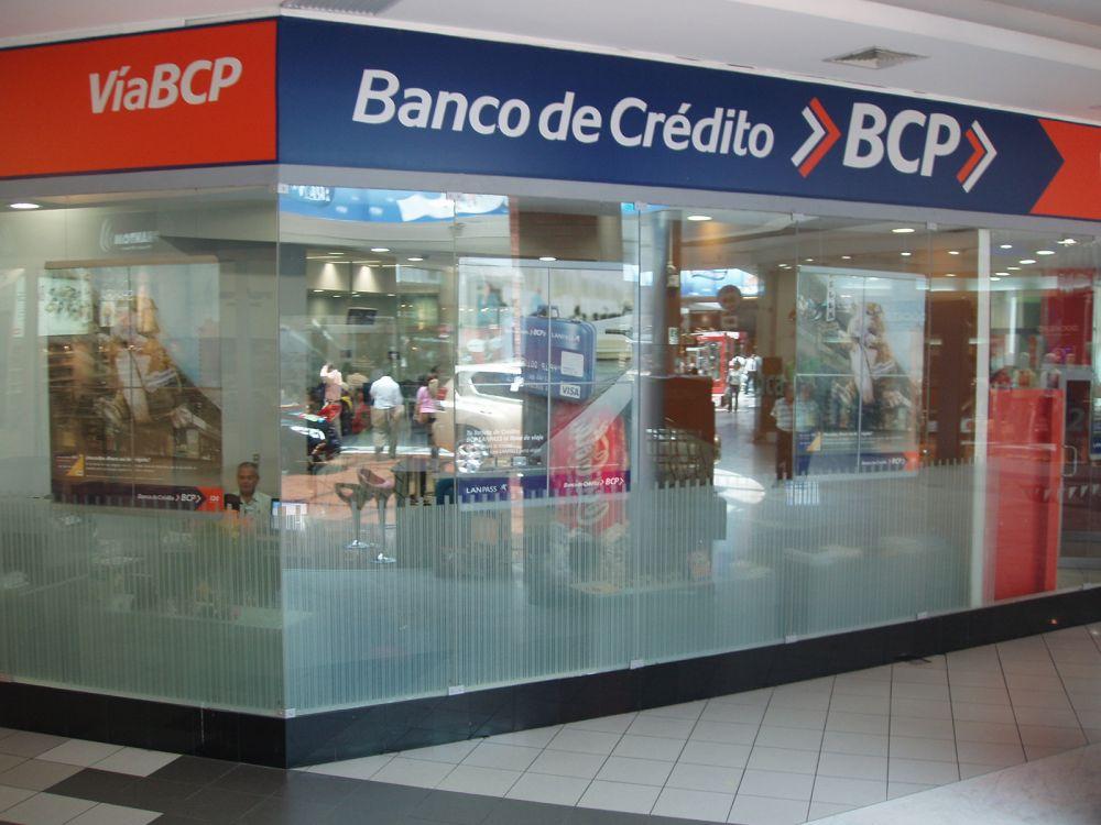 Oficinas del banco BCP