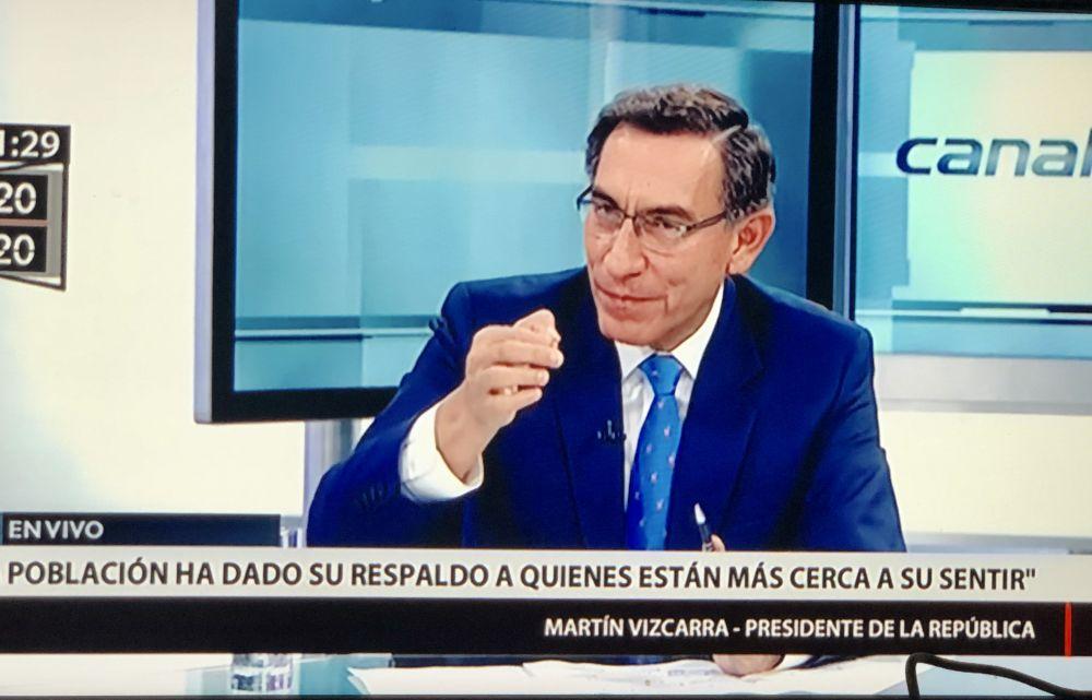 Martín Vizcarra no cree que Antauro Humala ordene fusilarlo tras votación de UPP en el Congreso