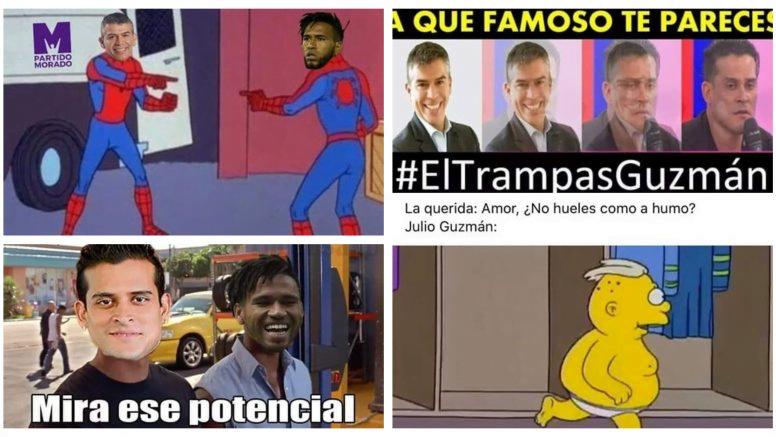 Julio Guzmán y los memes divertidos sobre infidelidad e incendio