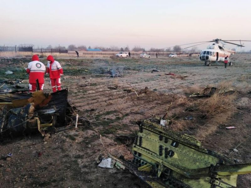 Accidente aéreo en Ucrania