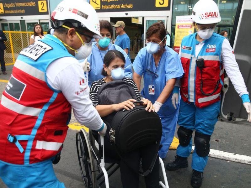 Descartan Coronavirus en tres ciudadanos chinos y una peruana