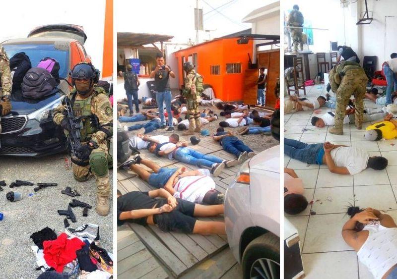 Policía detiene a 124 personas en Punta Negra y los investigan por crímenes