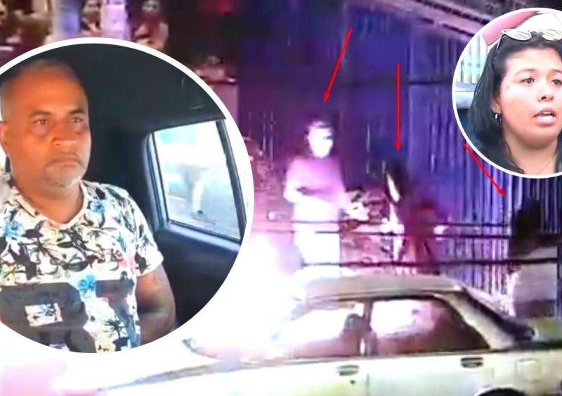 Mujer defiende a hombre que intentó agredirla en La Victoria