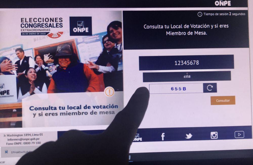 ¿Dónde me toca votar? y mira aquí cómo emitir el voto electrónico