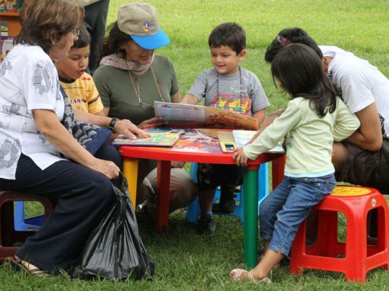 Lectura para niños en el Perú