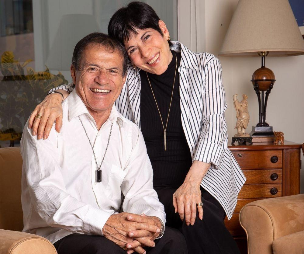 Miguel Barraza y su hermana Cecilia Barraza - Andina
