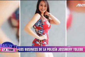 Jossmery Toledo: Sexy policía cobra $ 1,000 por historia en Instagram