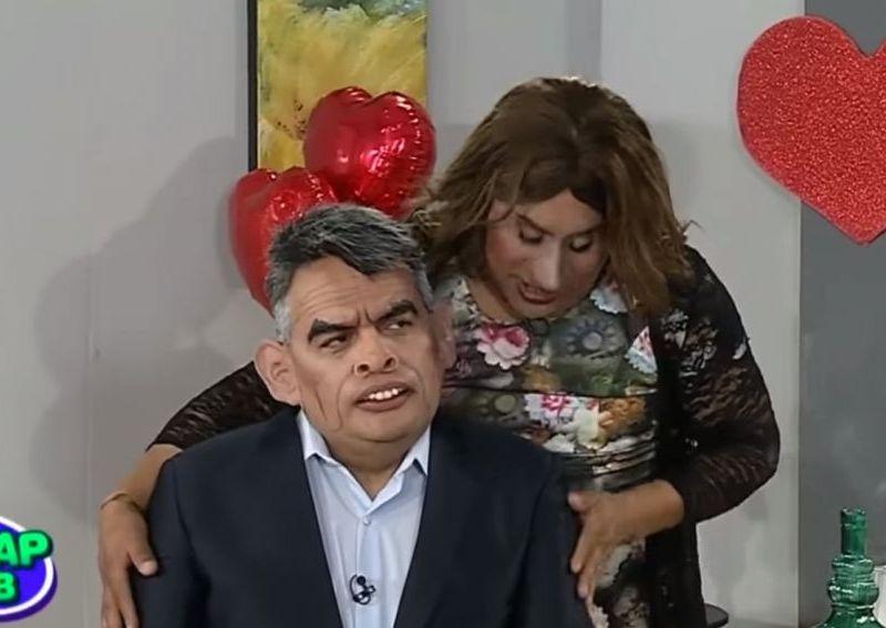 """Parodia de """"Julito"""" Guzmán y 'bella' cuzqueña en el Wasap de JB"""