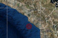 Fuerte sismo de magnitud 5.2 sacudió hoy Ilo, Moquegua y Tacna
