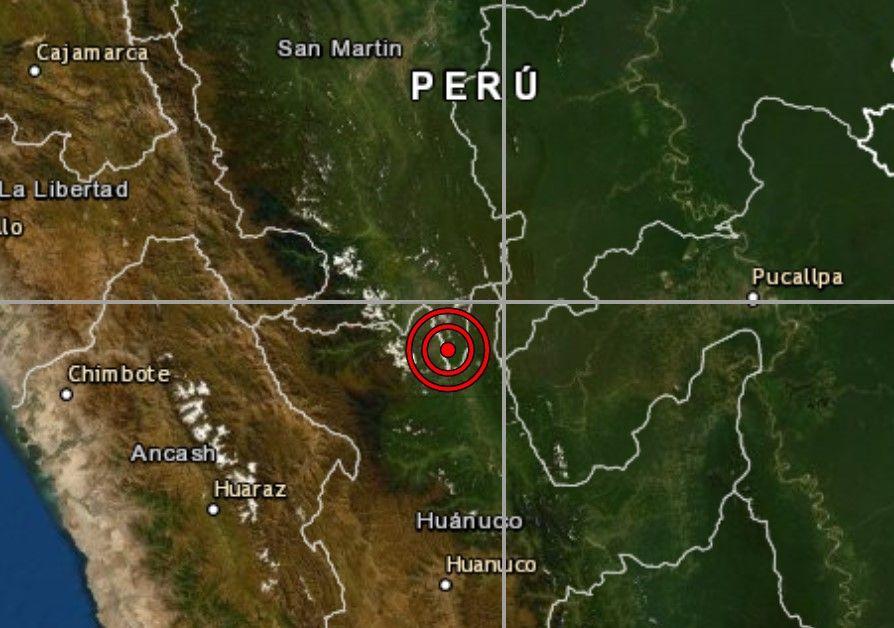 Sismo hoy en Uchiza