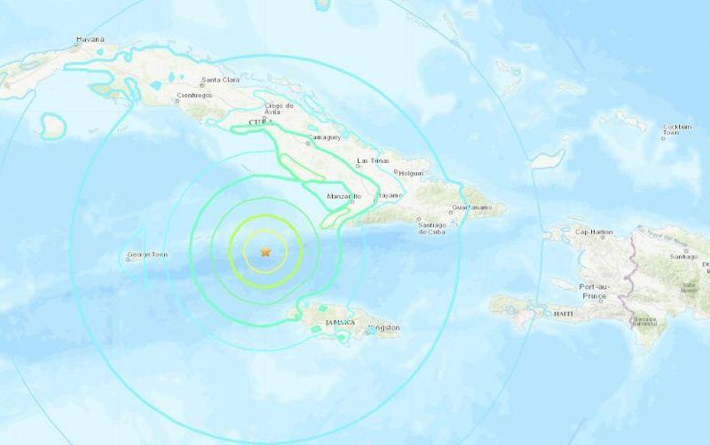 Terremoto en Jamaica