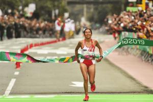 ¡Orgullo peruano! Gladys Tejeda clasificó a Juegos Olímpicos de Tokio 2020