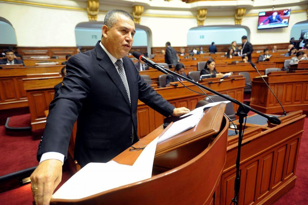 Daniel Urresti en el Congreso